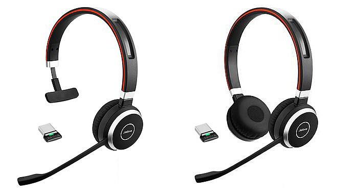 Jabra Evolve 65 MS Mono /& Link 360 Bluetooth Wireless Headset Black 6593-823-309